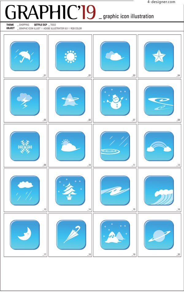 GRAPHIC Korea Weather vector icon