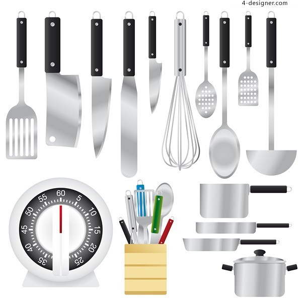 Kitchenware Vector Material