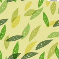 Nostalgia leaves background vector material