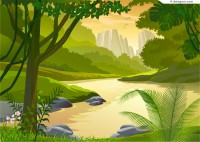 Secluded valley vector material