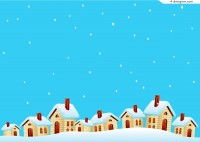 Snow hut vector material