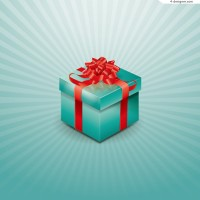 Surprise package illustrator vector material