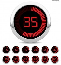 Technological counter vector material