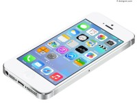 White iphone5 vector material