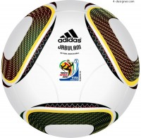 2010 South Africa World Cup Soccer vector material