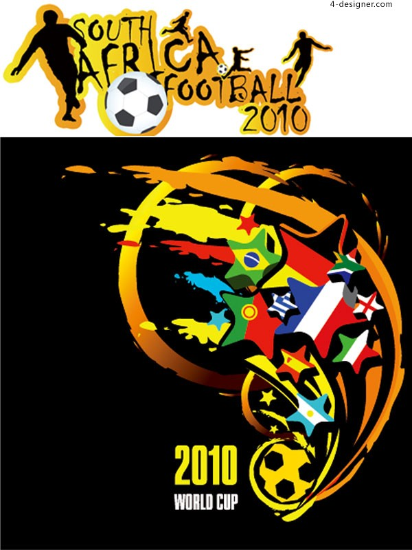 2010 South Africa World Cup vector material