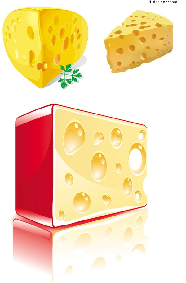 Cheese vector material
