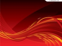 2 cool flame background vector materials