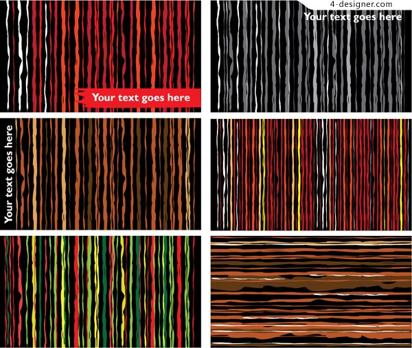Abstract stripes background vector material