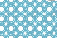 Blue circles seamless pattern background vector material