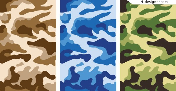 Camouflage background vector material