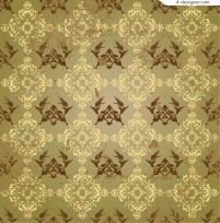 Classical style trend pattern vector background material
