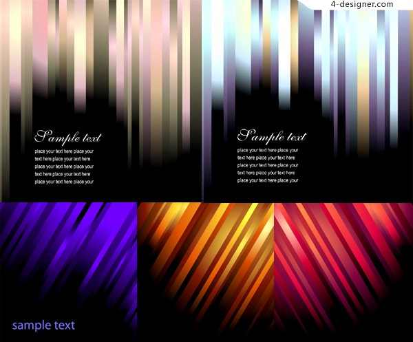 Color twill background vector material
