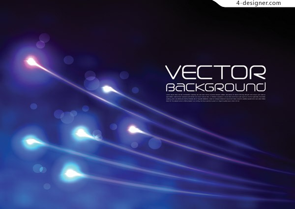 Cool light spot vector material