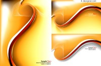 Dynamic golden gradient background vector material