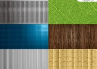 Fresh and natural texture background vector material