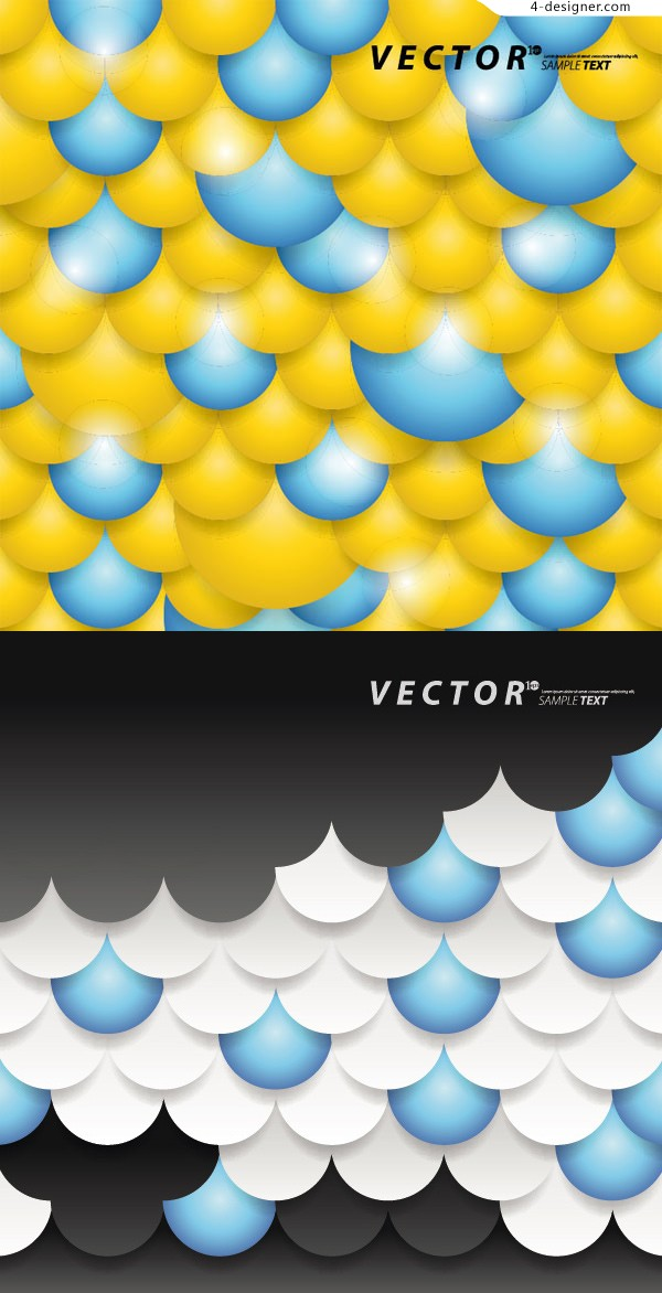 Scales background vector material