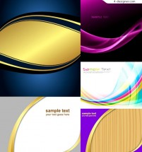 Several vector materials of practical dynamic lines background