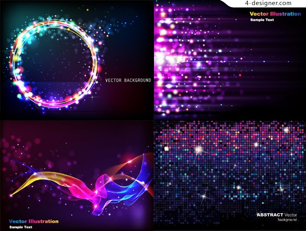 Starry background vector material