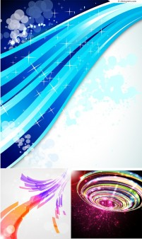 Vector material for designing dynamic background