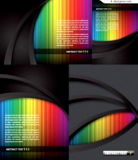 Vector material of colorful vertical bars background
