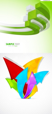 Vector material of creative fashion background