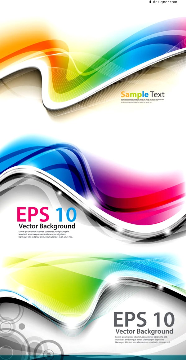 Vector material of dynamic background