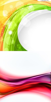 Vector material of dynamic halo background
