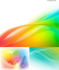 Vector material of fantasy background