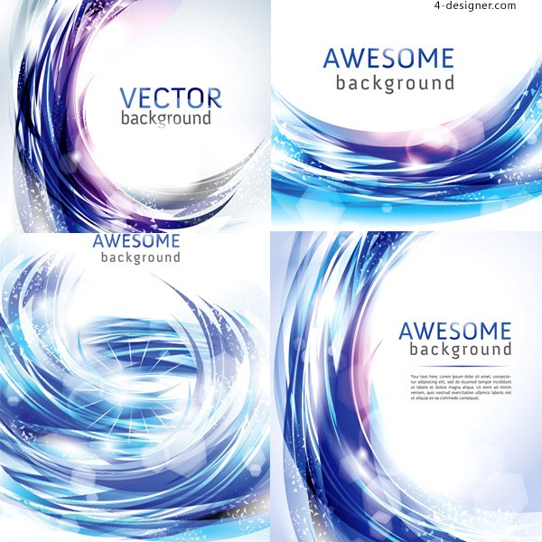 Vector material of gorgeous textured light background