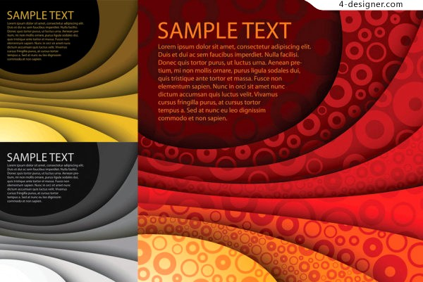 Vector material of layer background with personalized lines