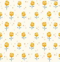 Yellow rose floral background vector material