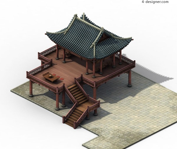 3D Models of Ink stone