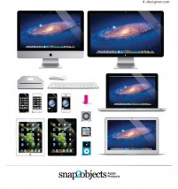 APPLE Digital Products Vector Diagrams
