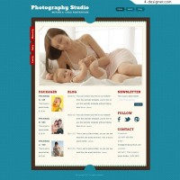 Foreign Classic Maternity Baby Websites PSD