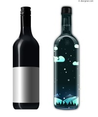 Wine Bottle Packaging Material