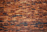 A red brick wall texture