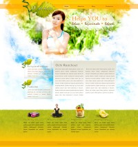 Foreign classic women s health website PSD layered material