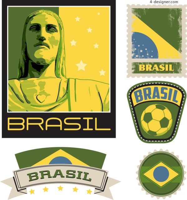 2014 Brazil World Cup Vector 2