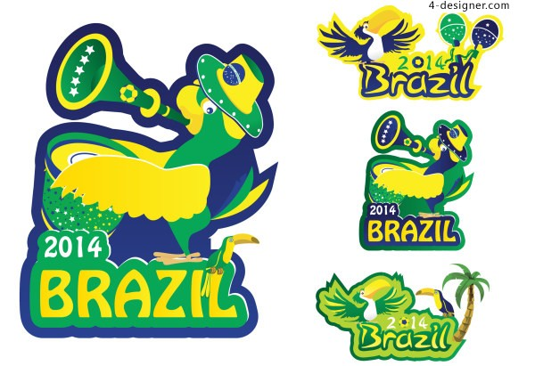 2014 Brazil World Cup Vector 8