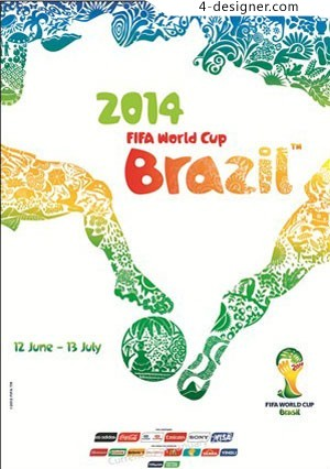2014 Brazil World Cup official poster HD