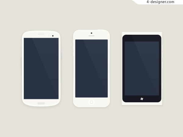 Flattened templates for mobile devices