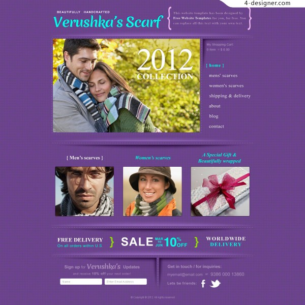 PSD love scarves foreign websites