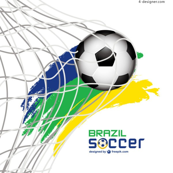 Soccer Shots instant background vector material