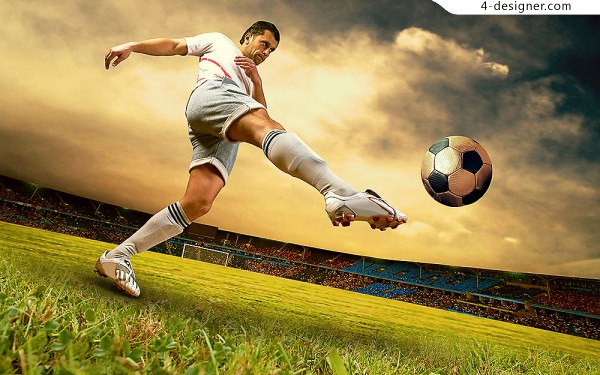 Soccer World Cup material HD big picture 1