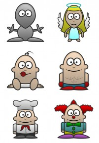 38 cartoon characters PNG Icon 256x256px
