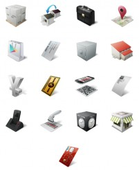 3D business life PNG Icon 128x128px