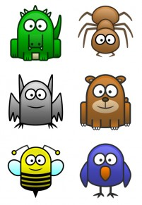 46 Small Animal PNG stick figure icon 256x256px