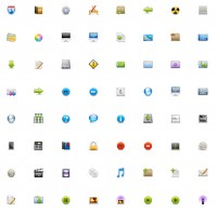 96 texture PNG icons 32x32px
