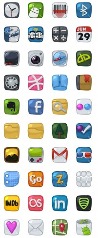 Android phone icon PNG Icon 128x128px
